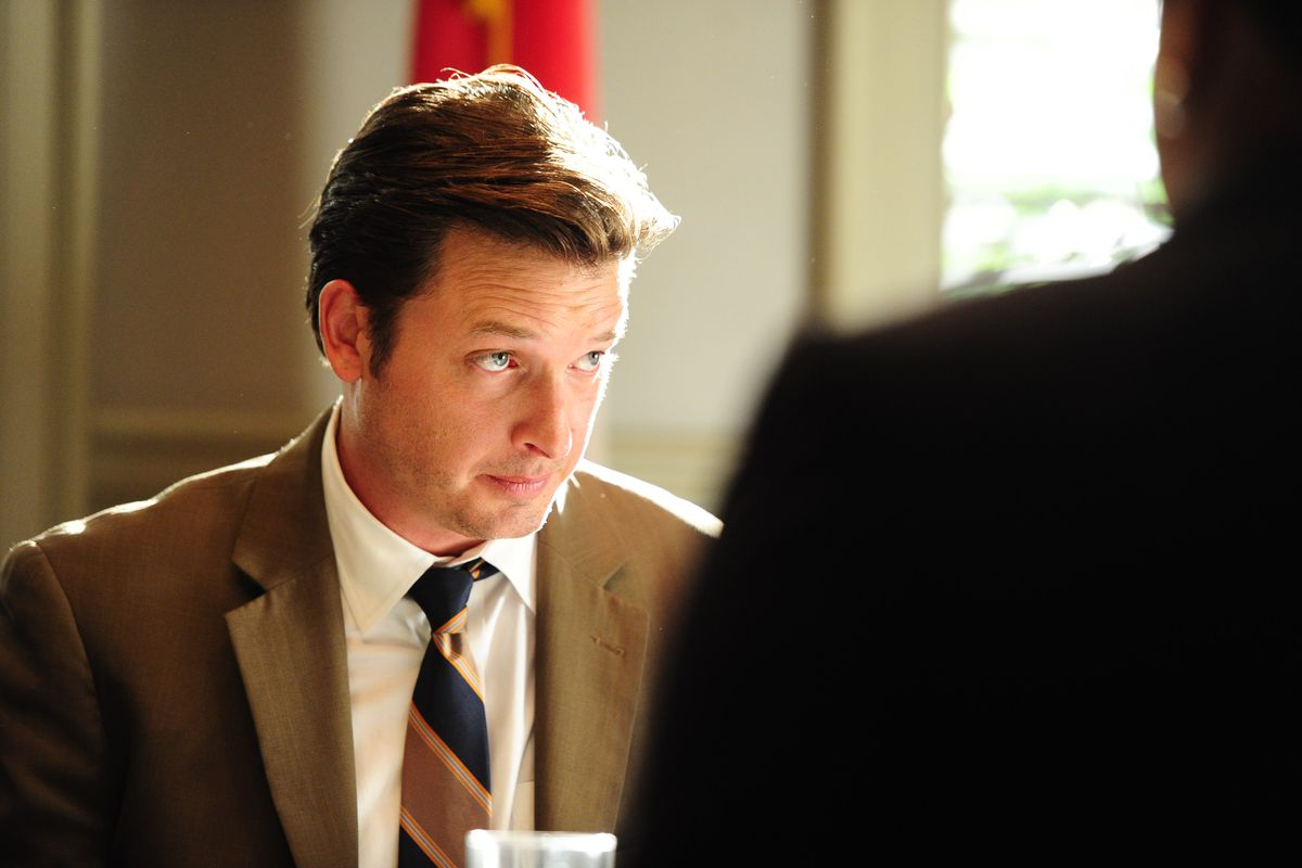 Aden Young stars in Rectify.