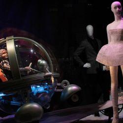 A roving space explorer comes across Lady Gaga's dress