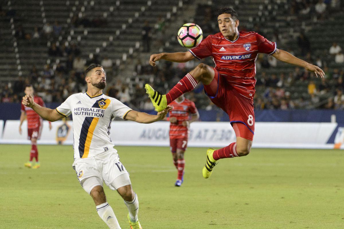 MLS: U.S. Open Cup-FC Dallas at Los Angeles Galaxy