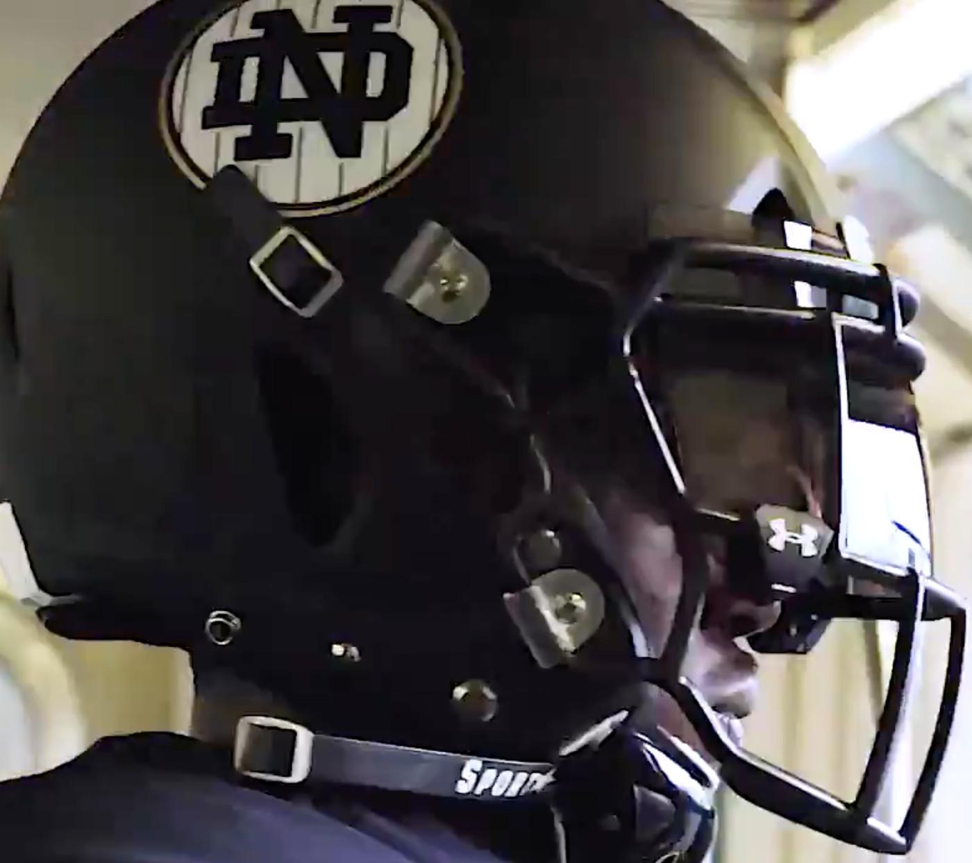 Notre Dame Football Irish Reveal 2018 Shamrock Series Uniforms One Foot Down