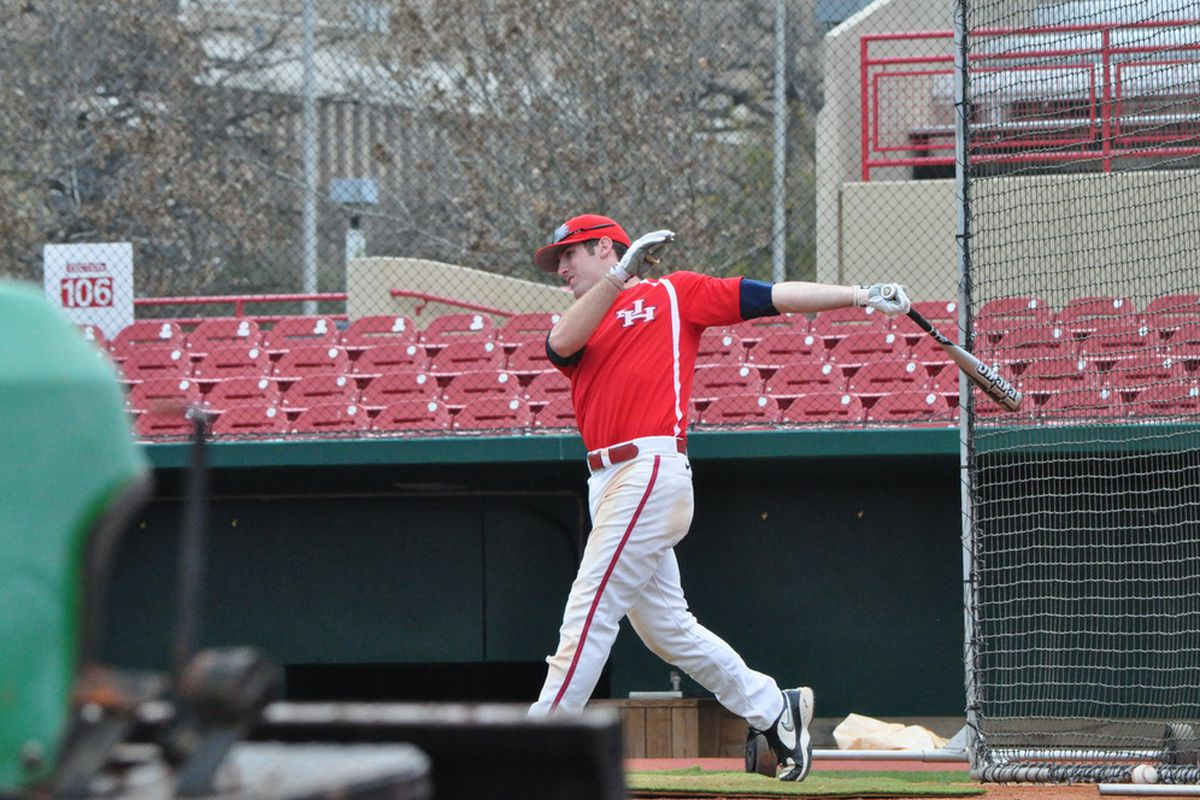 Joel Ansley and Houston could only take one of three games at home against East Carolina this weekend.