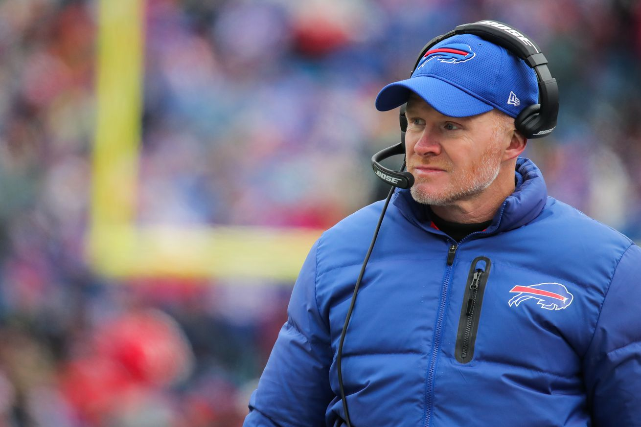 Buffalo Bills' Sean McDermott falls in the middle of the pack of Sporting News' head coach rankings