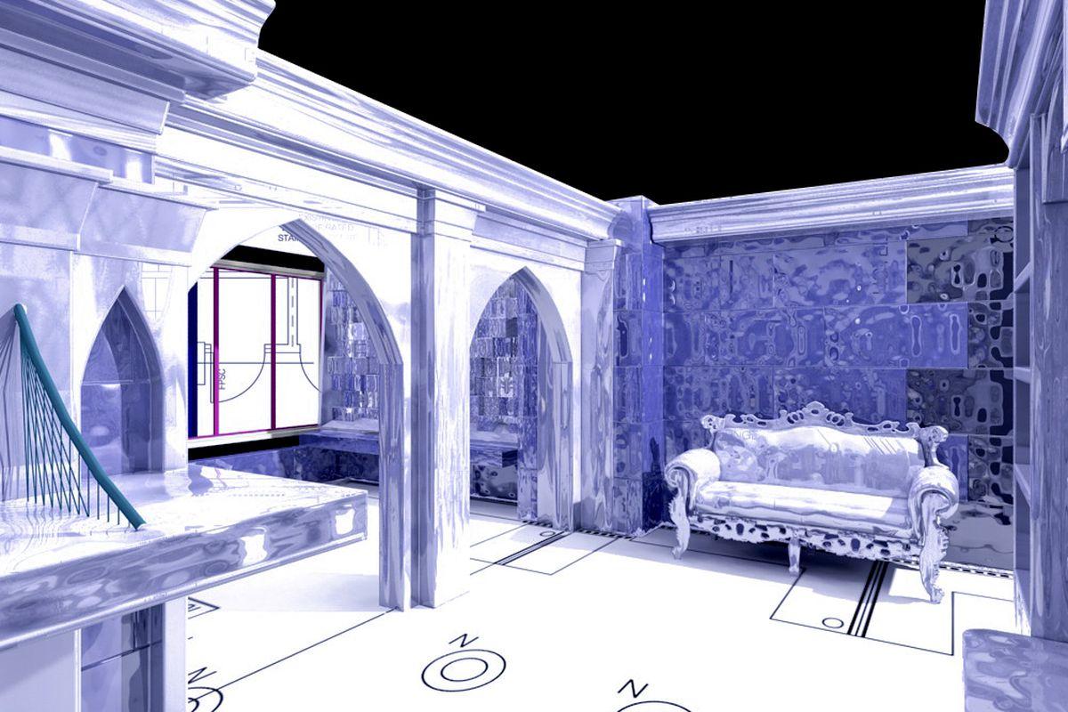 A rendering of Icebar
