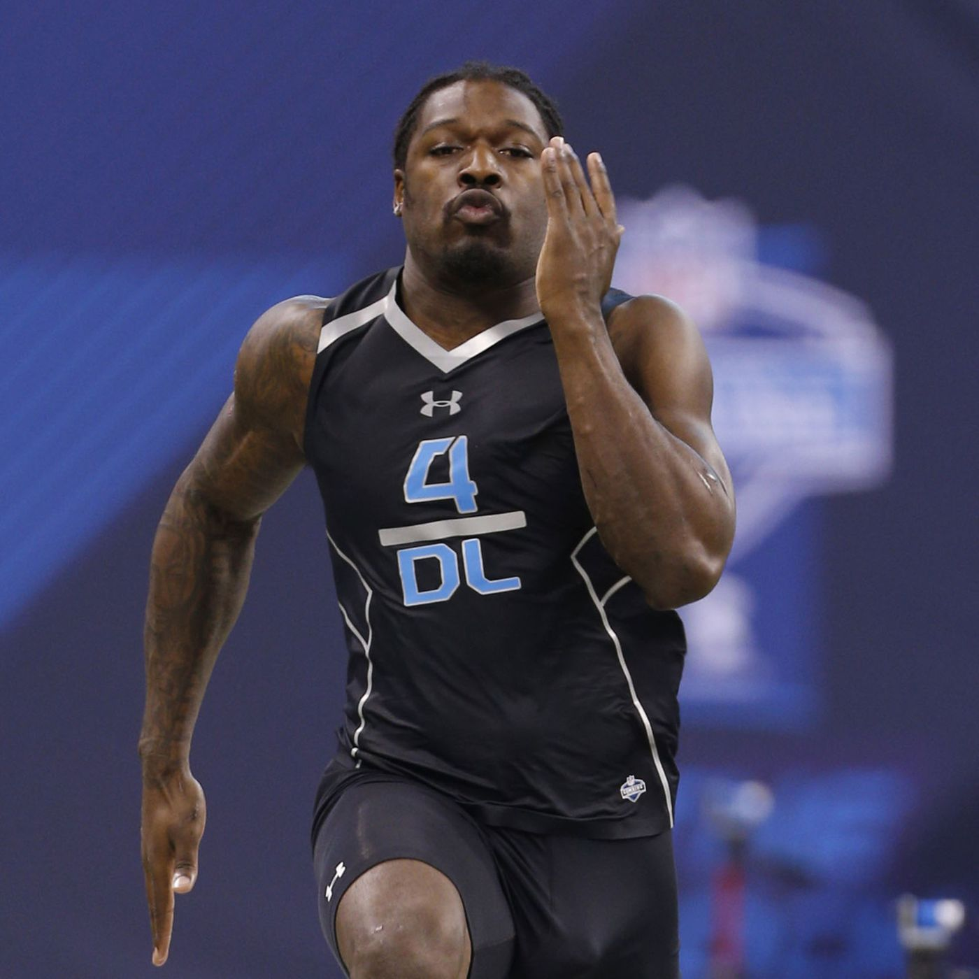 2014 Nfl Combine Results Defensive Line 40 Yard Dash Bench Press More Silver And Black Pride