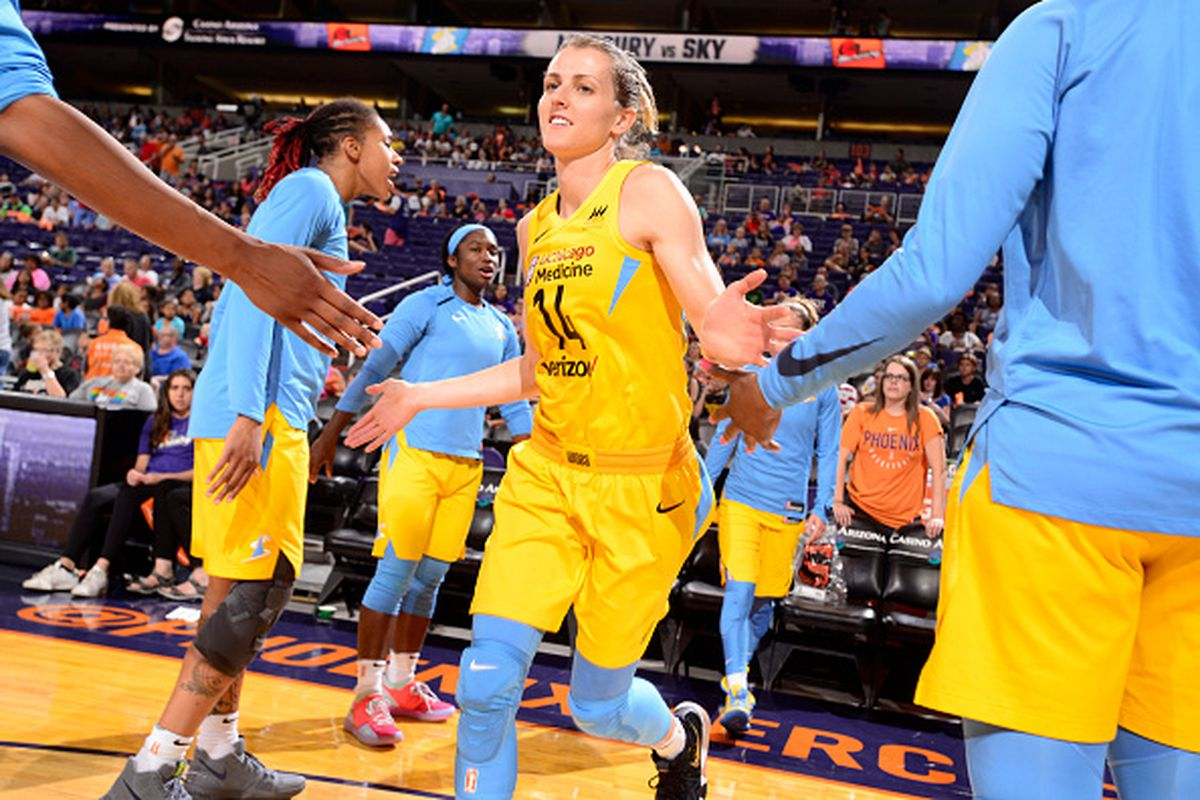 2546800fc Chicago Sky guard Allie Quigley is leading Famila Schio to the EuroCup Women  semifinals. Barry Gossage NBAE via Getty Images