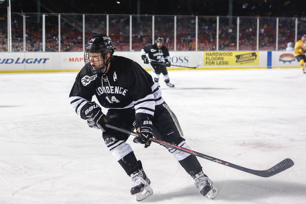 Ross Mauermann and the Providence College Friars claimed the No. 2 seed in the Hockey East Tournament on the final day of the regular season.