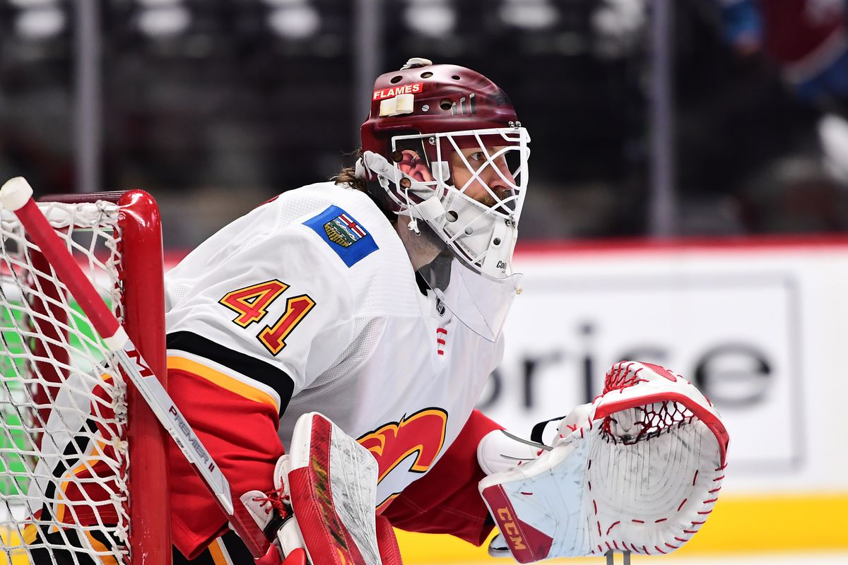 NHL: Stanley Cup Playoffs-Calgary Flames at Colorado Avalanche