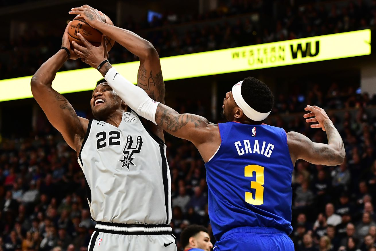 Spurs at Nuggets Playoff Game 2 Thread