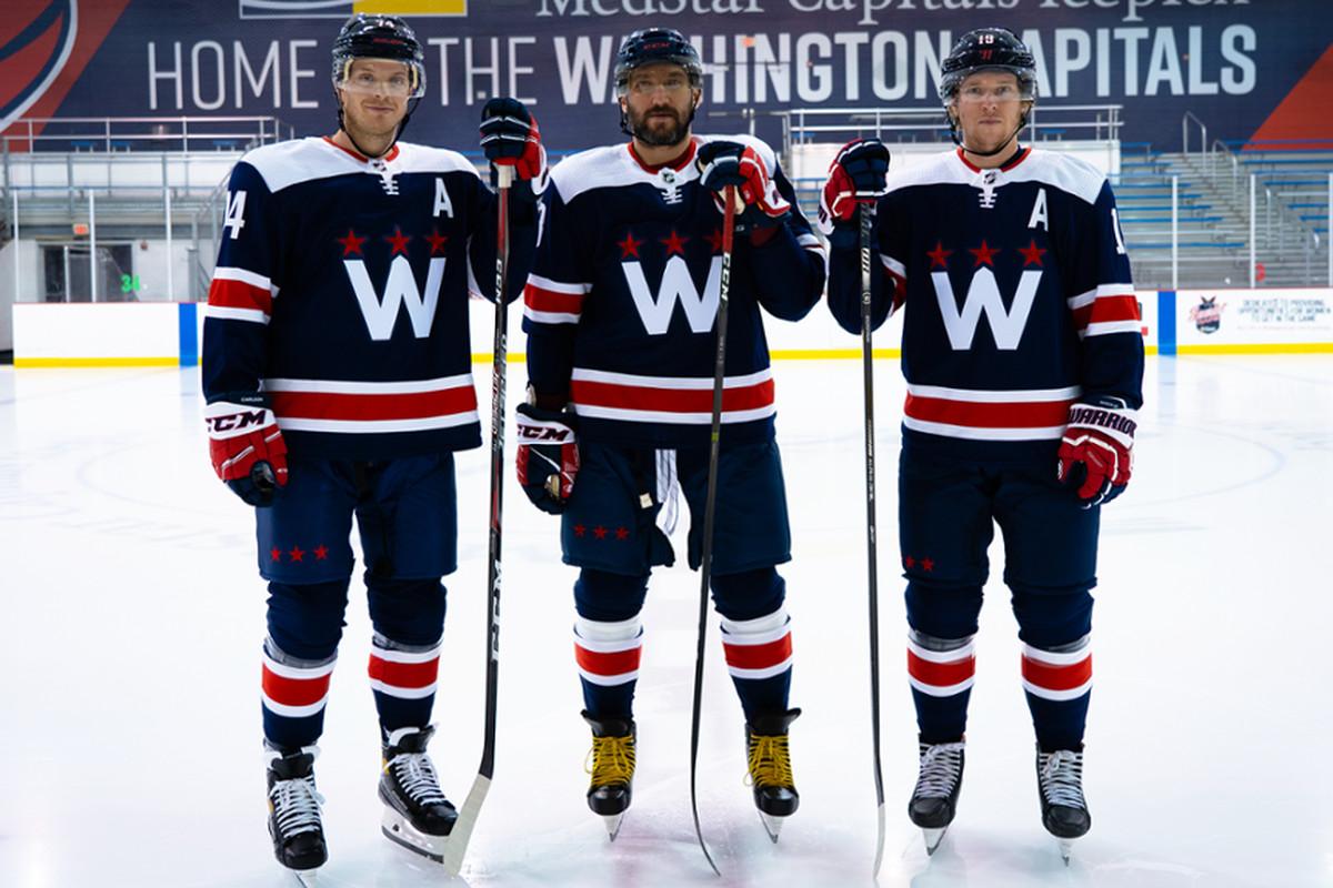 Capitals Unveil New Alternate Uniforms - Japers' Rink