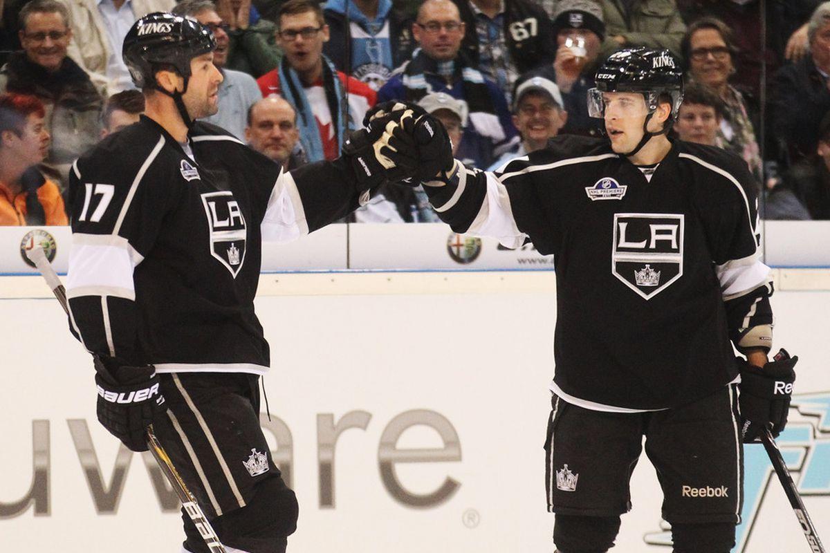 Hockey! Yeah!  (Photo by Joern Pollex/Bongarts/Getty Images)
