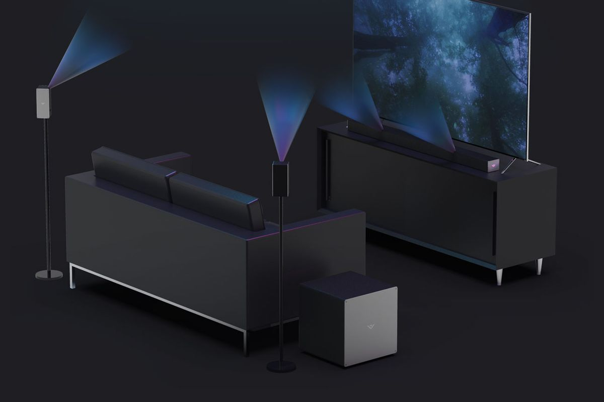 Vizios New Sound Bars Have Dolby Atmos Support The Verge Speaker Diagram And Parts List For Nakamichi Audioequipmentparts Alongside Its Whole 2018 Tv Lineup Vizio Just Announced Three With Chromecast Audio