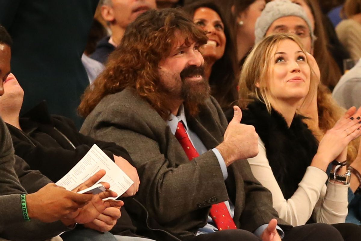Mick Foley approves the Red Bull Rant.