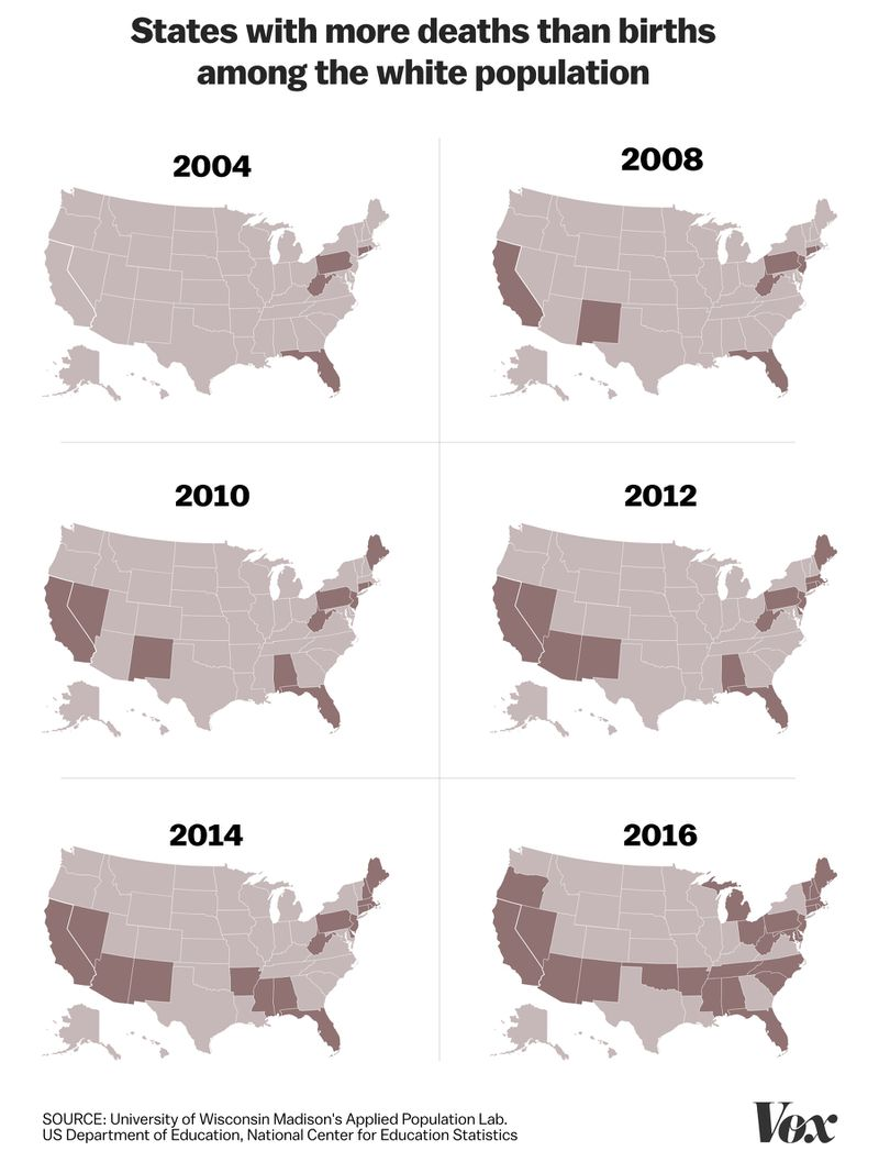 STATES_MORE_DEATHS White threat in a browning America
