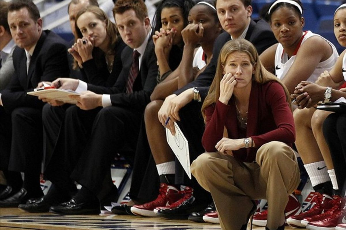 After ten years, <strong>Kim Barnes Arico</strong> is leaving St. John's to become the head coach at Michigan.