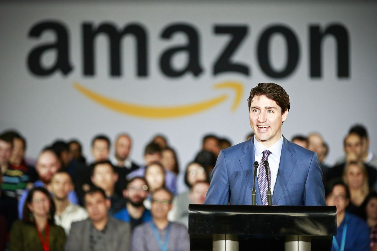 Canada's becoming a tech hub thanks to Donald Trump