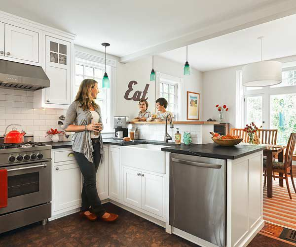 A Cozy Kitchen With More Light Function This Old House