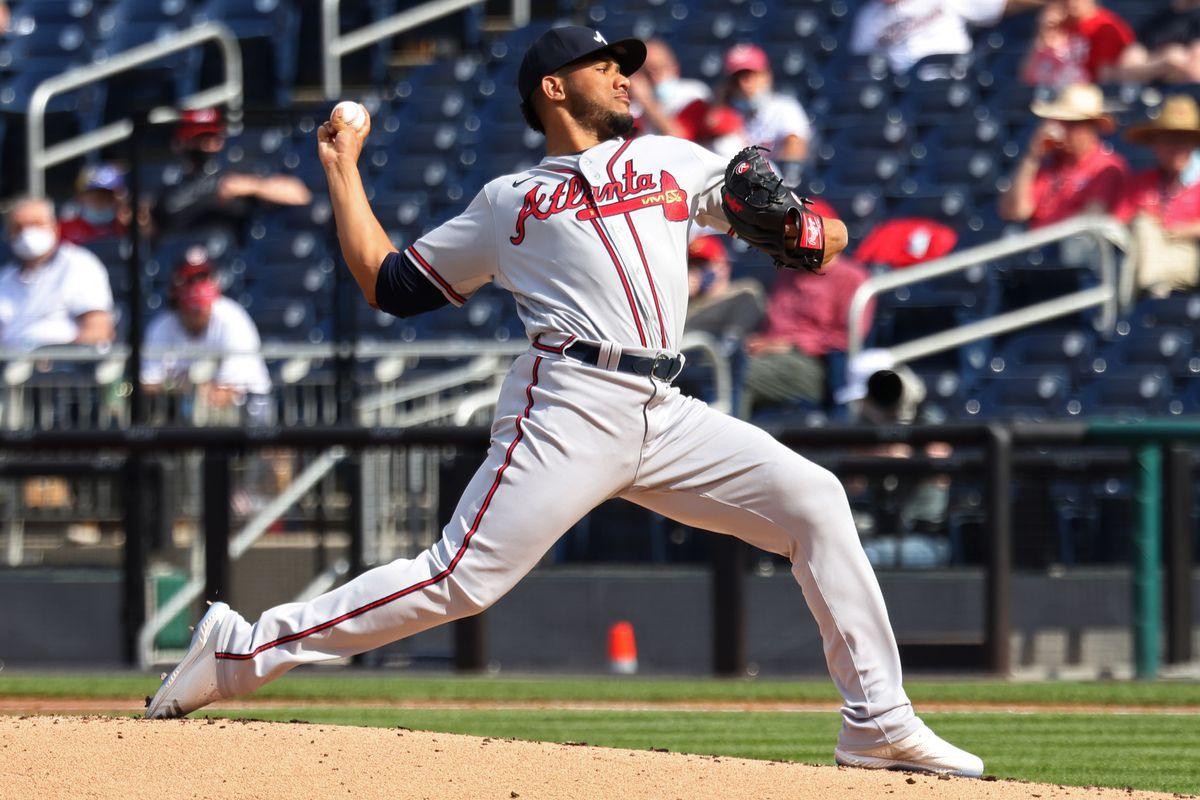 MLB: Game Two-Atlanta Braves at Washington Nationals