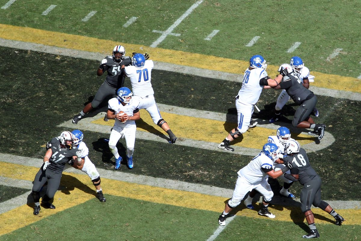 NCAA Football: Indiana State at Purdue