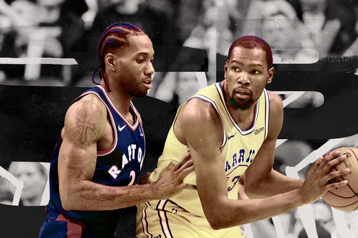 7ae19a78 Kawhi Leonard and Kevin Durant have been the NBA playoffs' biggest stars,  and no one knows where they'll play next year