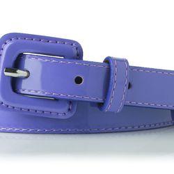 The Genevra belt in lavender.