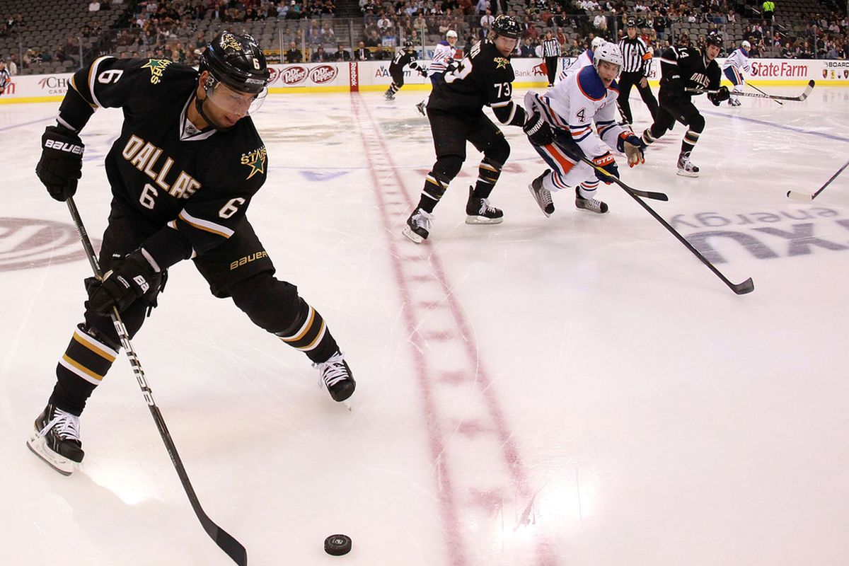 Trevor Daley and Brenden Morrow will miss at least two more games.