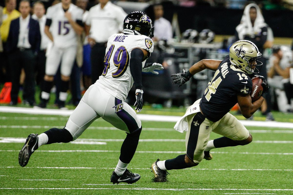 NFL: Baltimore Ravens at New Orleans Saints