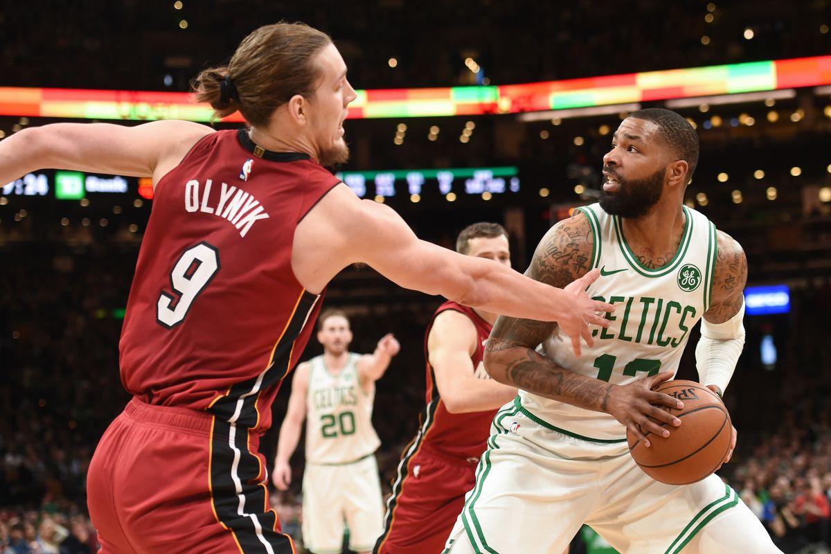 NBA: Miami Heat at Boston Celtics
