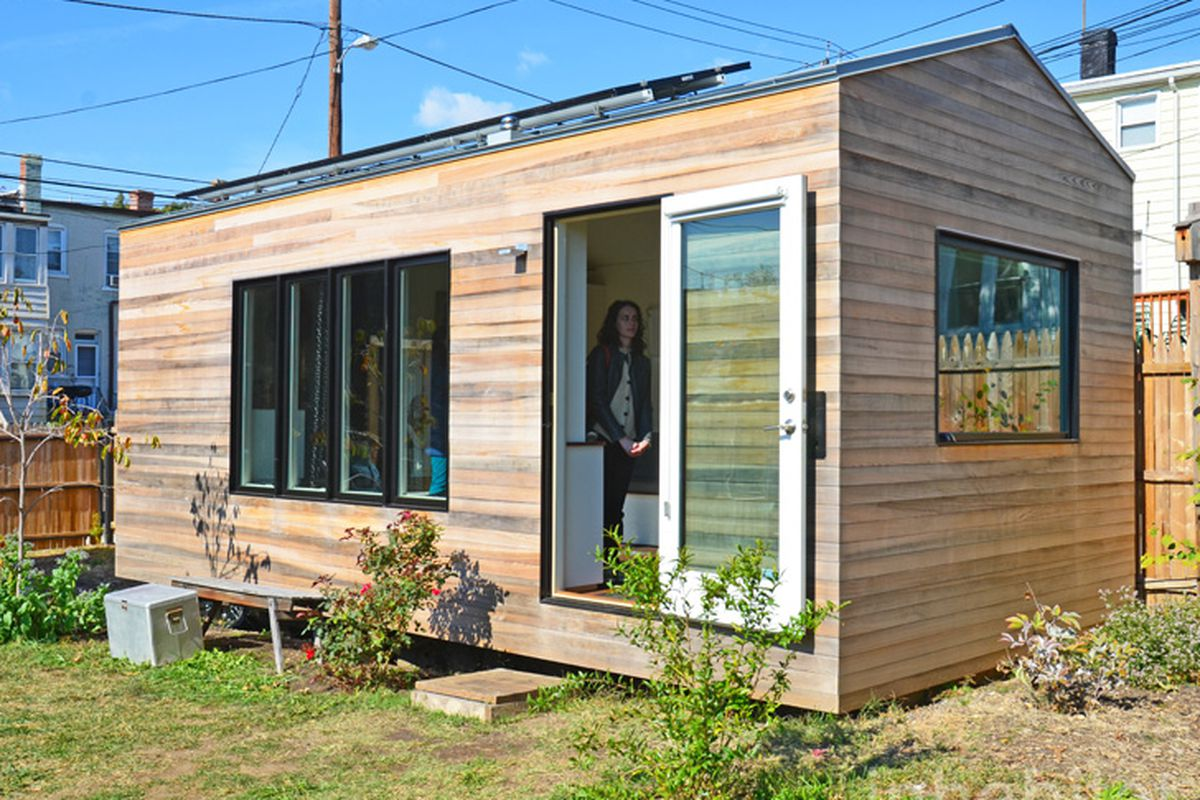 Tiny home production line minim homes emerges in d c for Production home builders