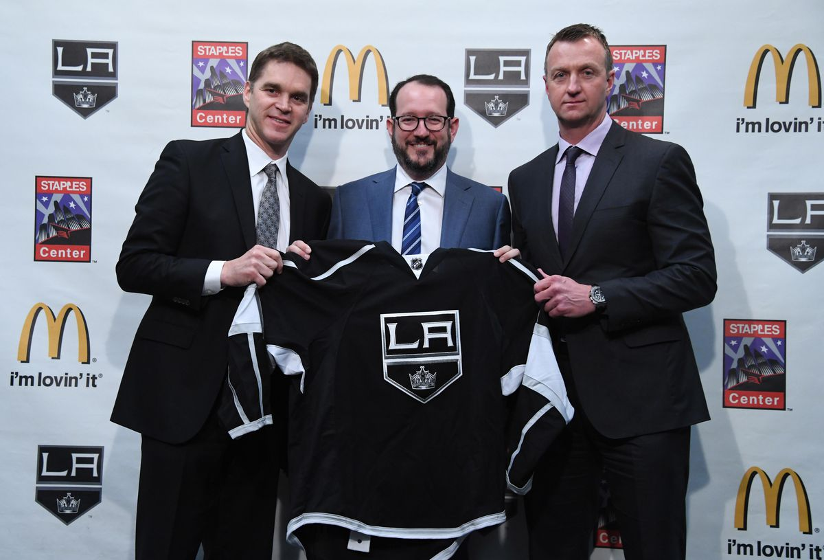 NHL: Los Angeles Kings Press Conference
