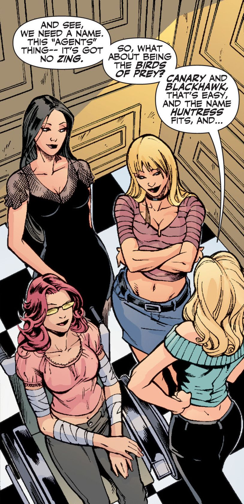 Birds of Prey #86, DC Comics (2005).