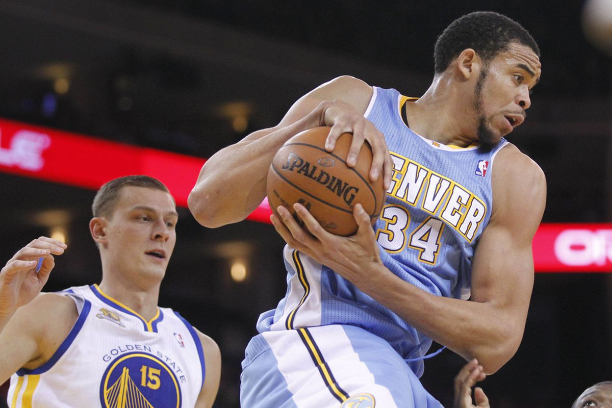 Against the Warriors, the Nuggets should own the boards. Why haven't they?