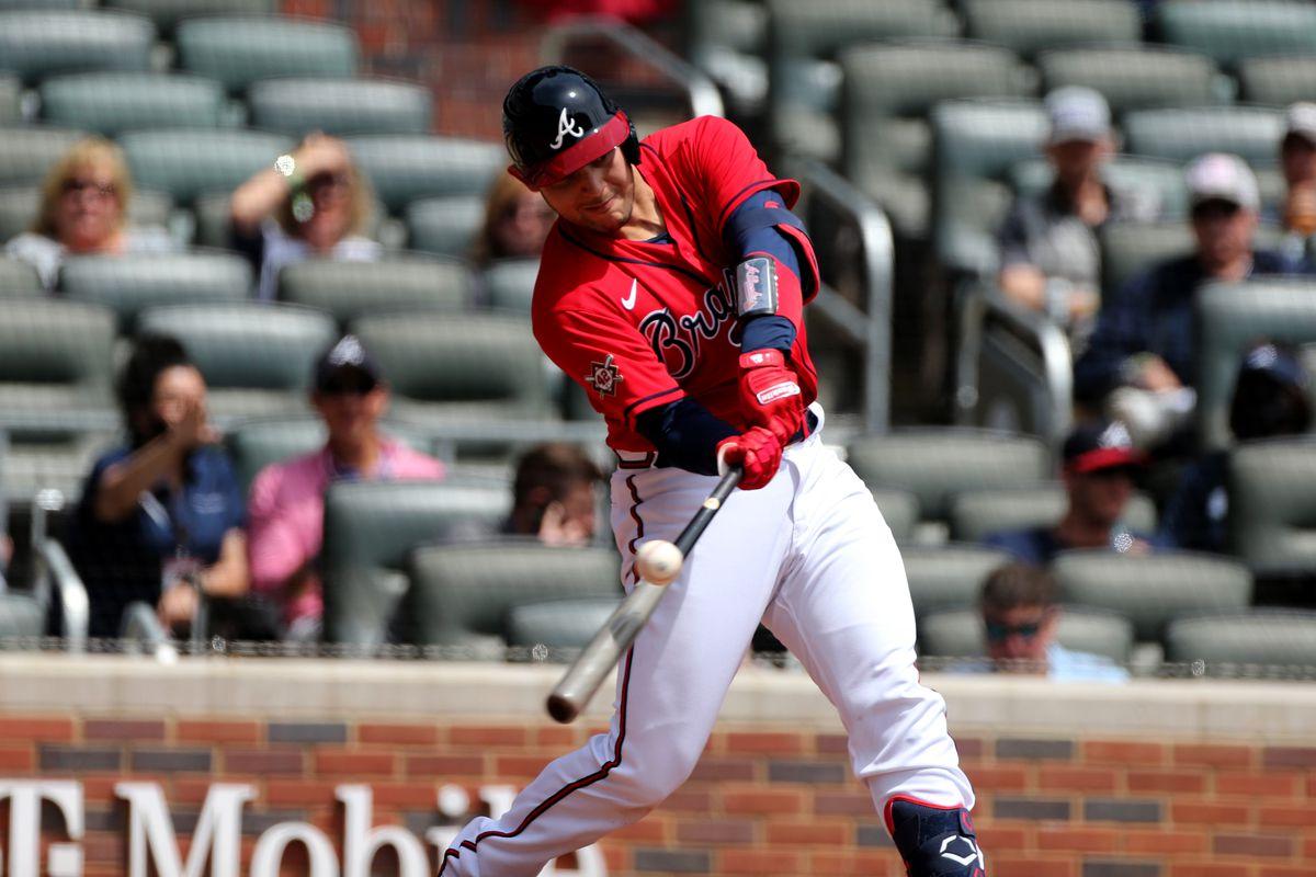 MLB: APR 15 Marlins at Braves