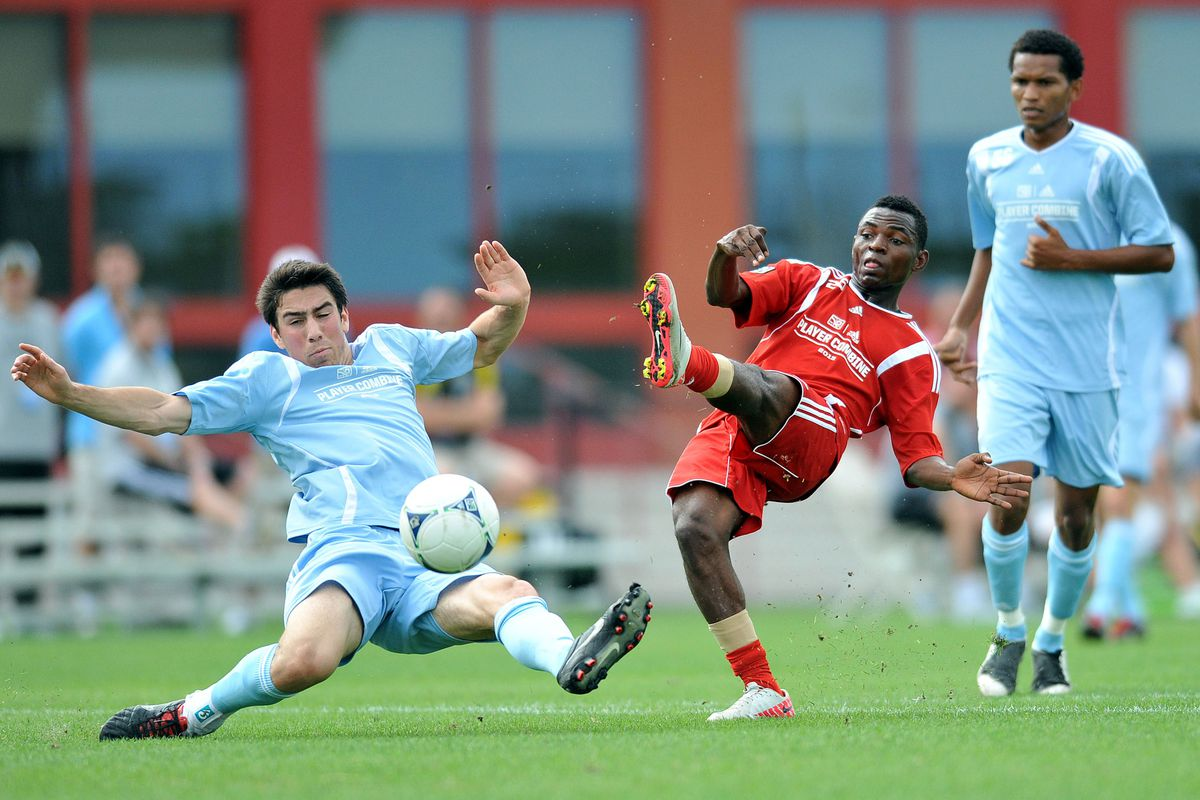 Yazid Atoube Emane impressed at the MLS combine, which may have led to the Fire selecting him