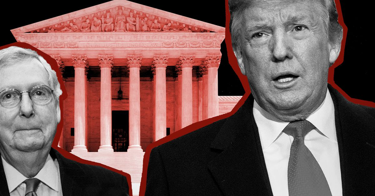 How Trump took over Americas courts