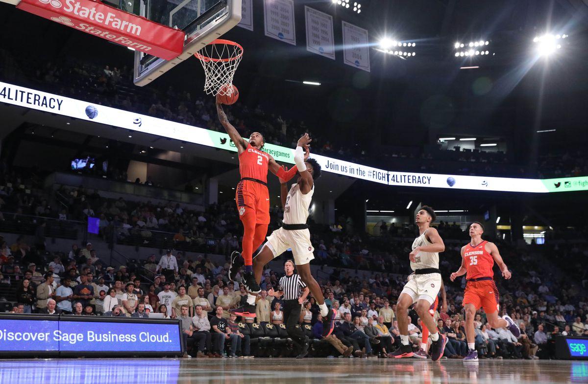 NCAA Basketball: Clemson at Georgia Tech