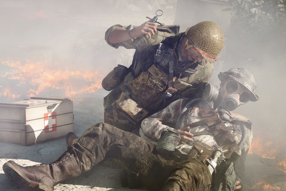 Battlefield 5 players are frustrated over this week's medic