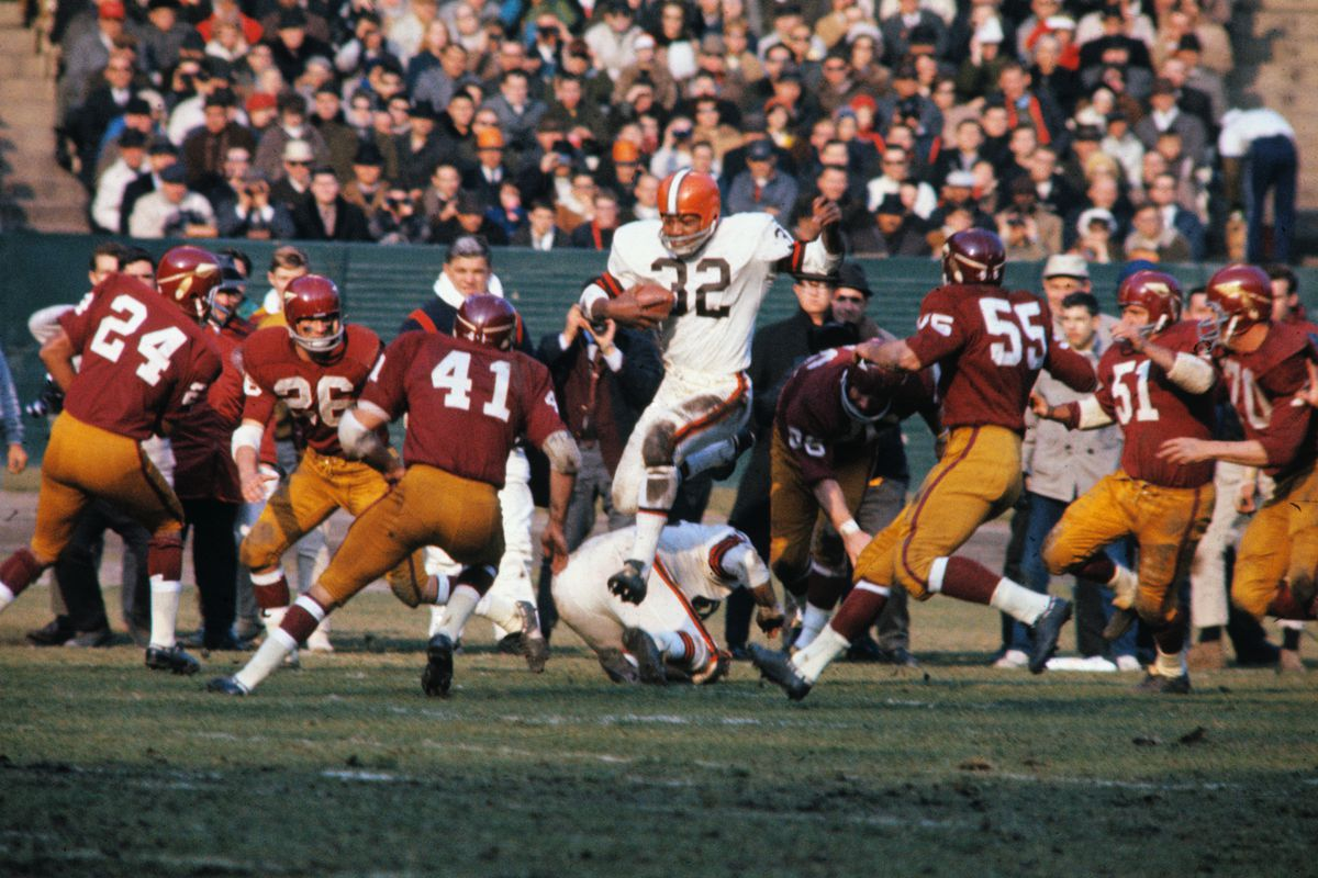 Cleveland Browns: Jim Brown makes two appearances on NFL's Top 100 play list