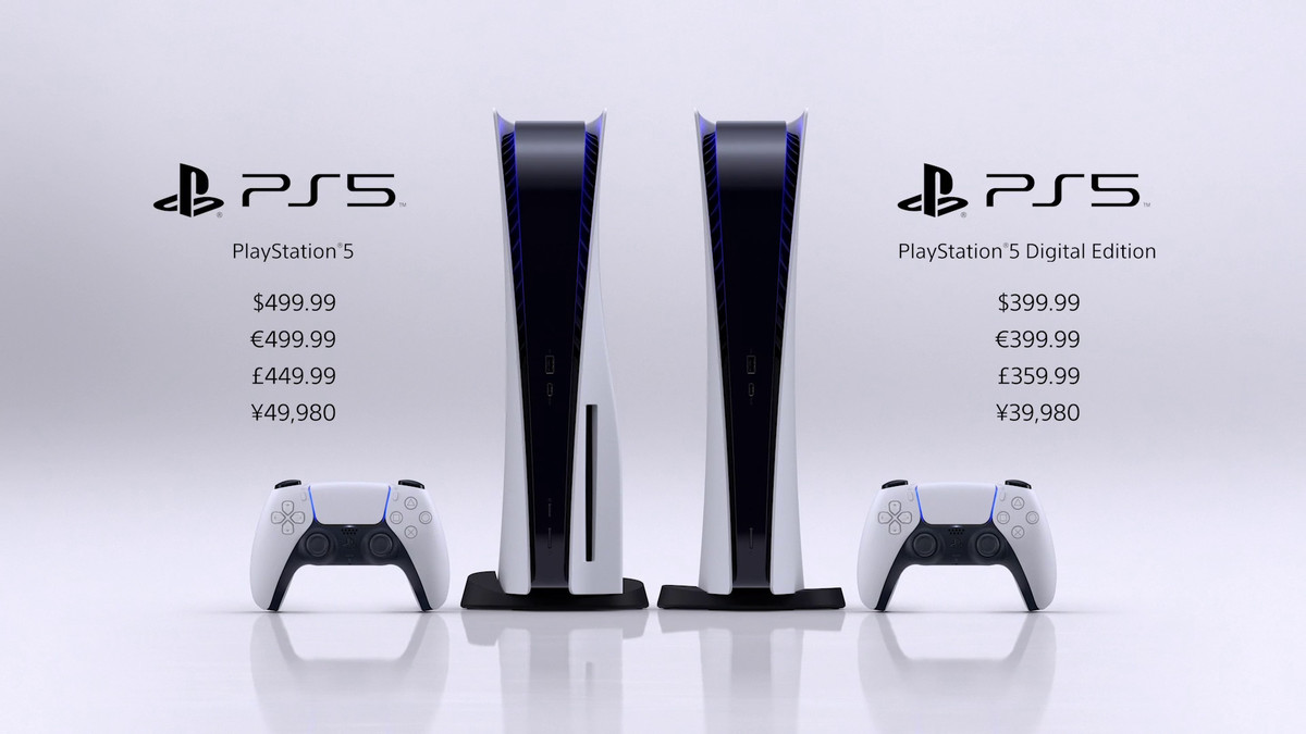 prices for PS5