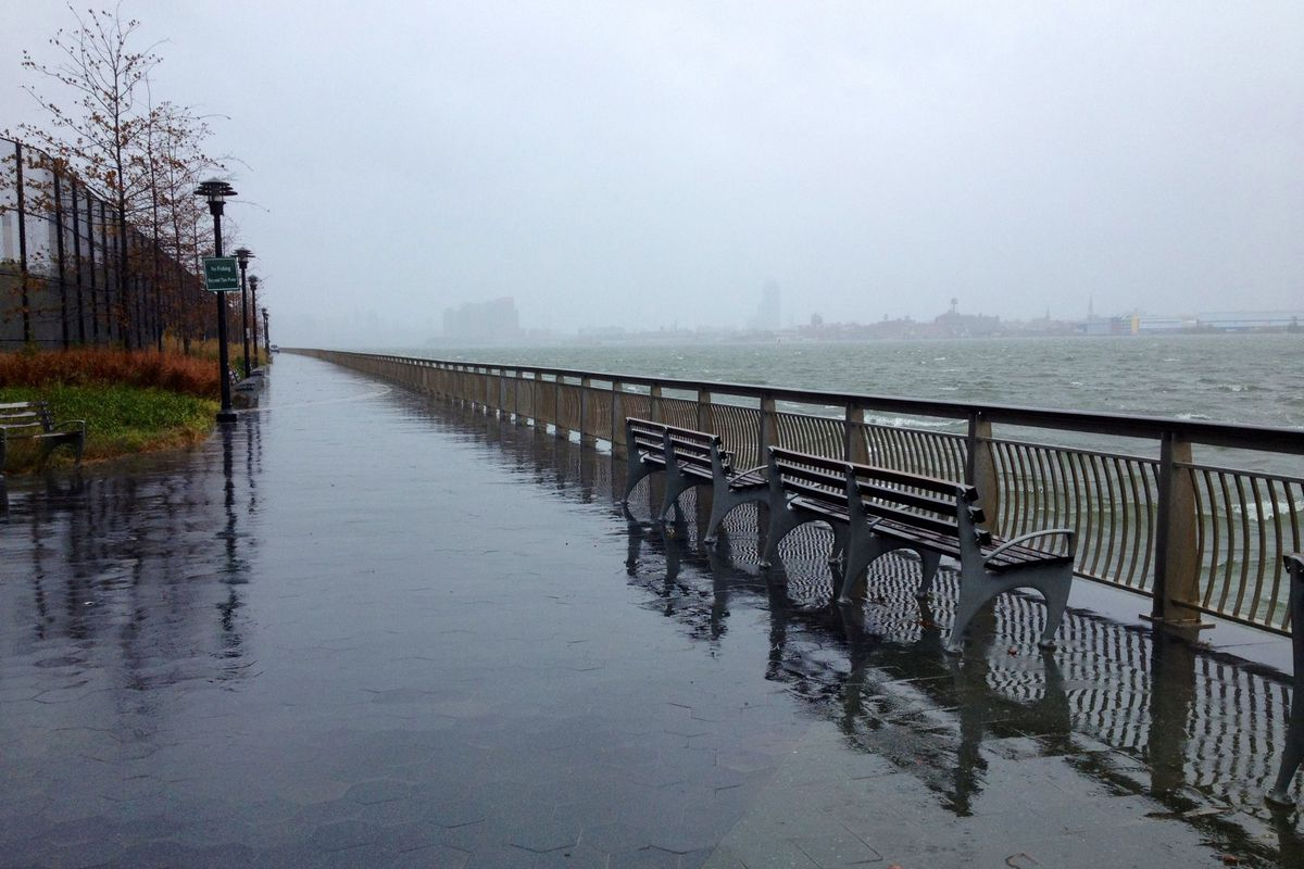East River Hurricane Sandy