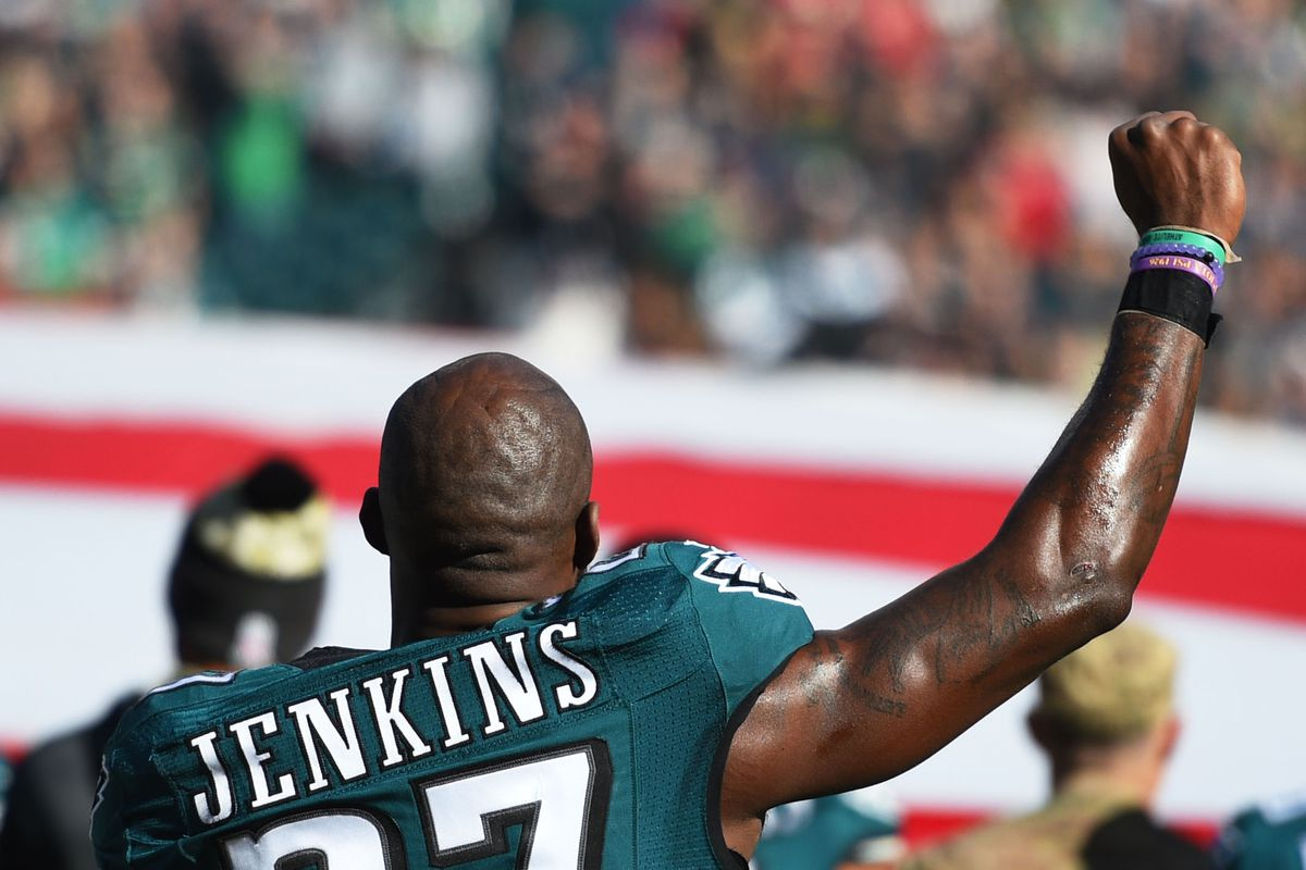Malcolm Jenkins CNN interview Eagles safety talks about why NFL