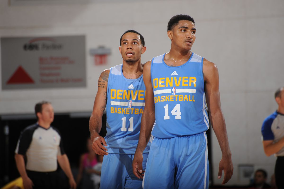 Erick Green and Gary Harris combined for 32 points for Denver tonight.