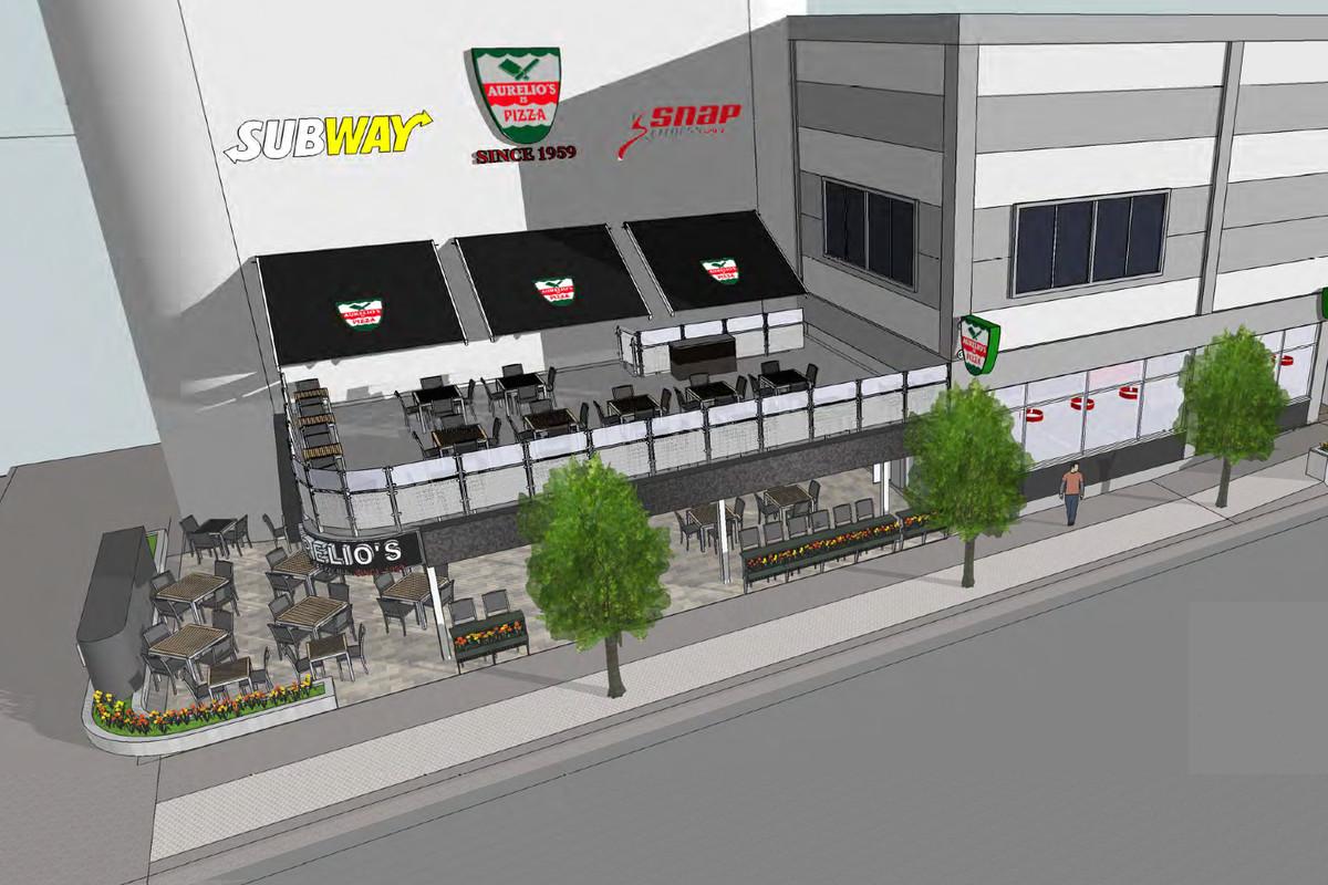 Aurelio's Pizza in the South Loop