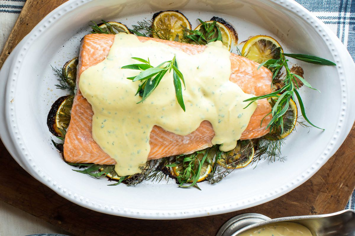Menu planner: Lemon herb baked salmon with bearnaise sauce is easy and satisfying