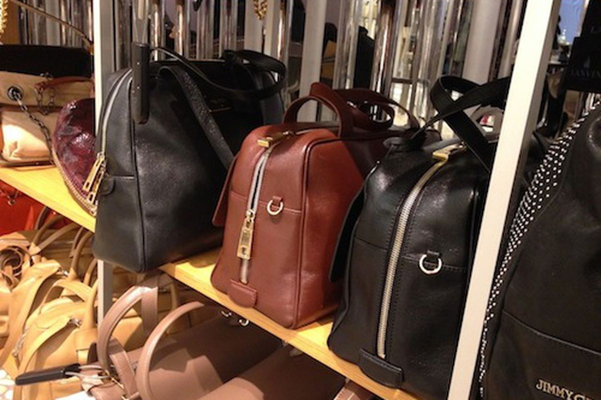 Marc Jacobs bags at the Saks Consolidation Sale; Photo by Claudia Saide