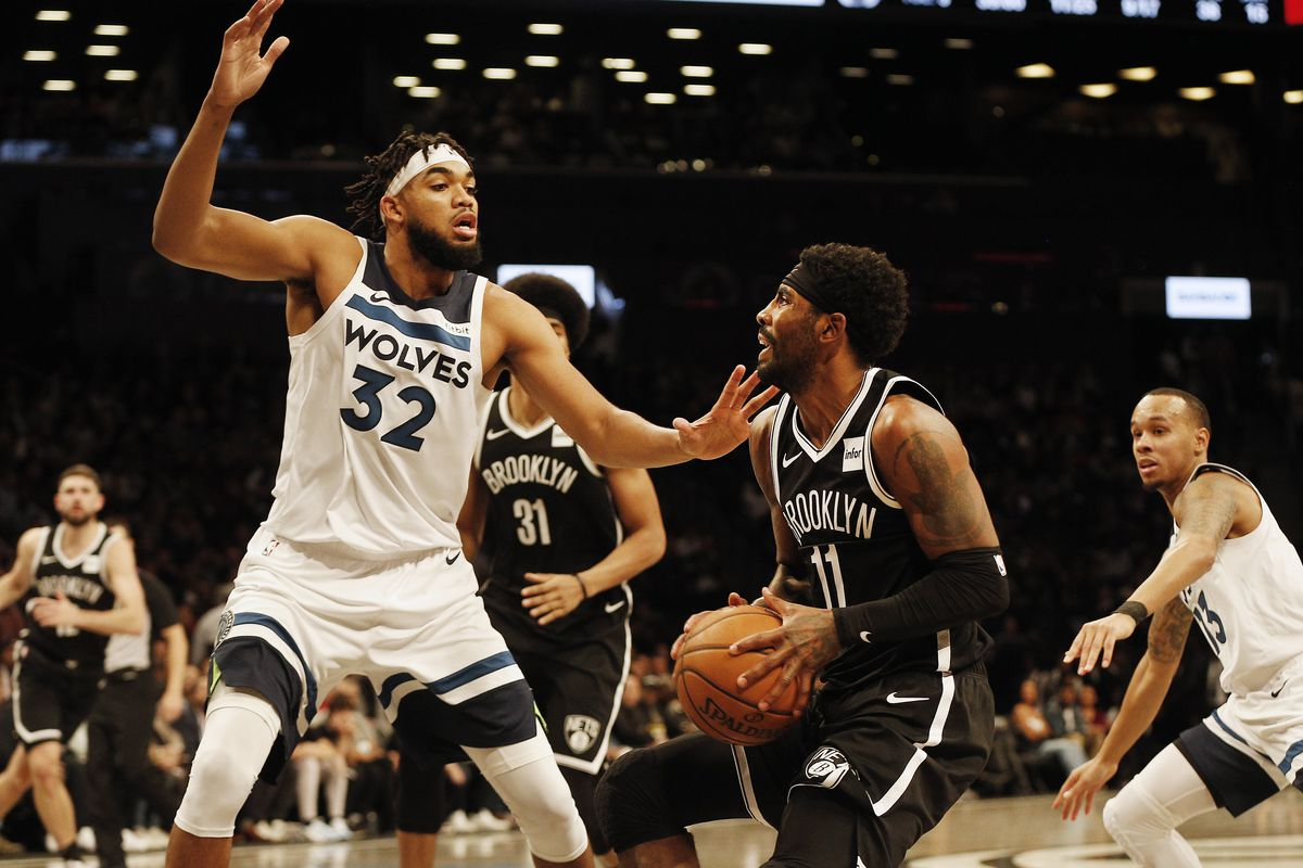 Timberwolves vs Nets has been postponed after events in Minnesota today
