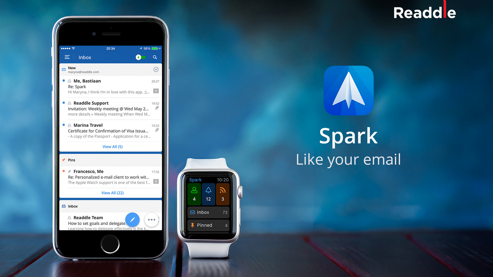 Spark for iPhone is a fast, smart way to manage your email ...
