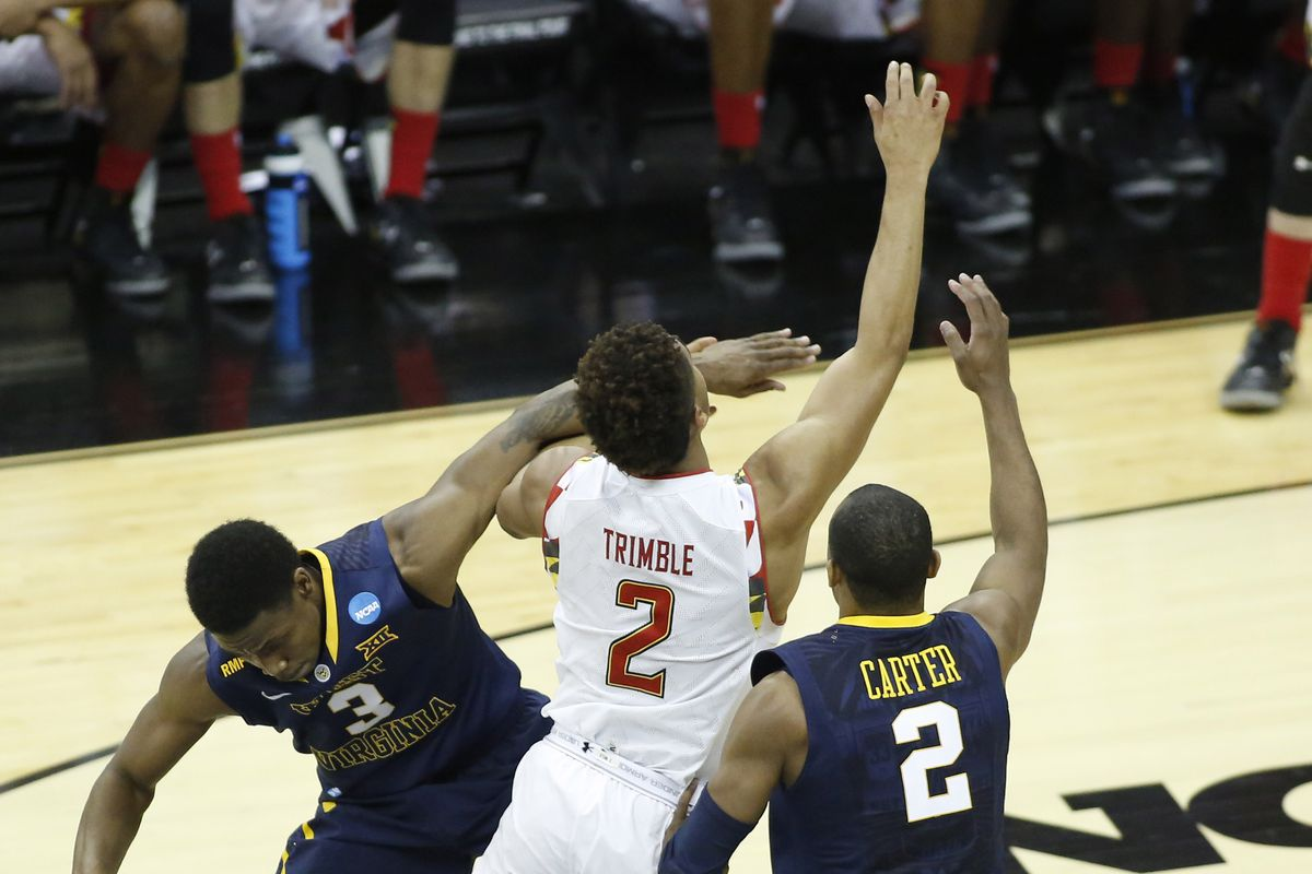 Once against, West Virginia presents a terrifying potential matchup for Maryland.
