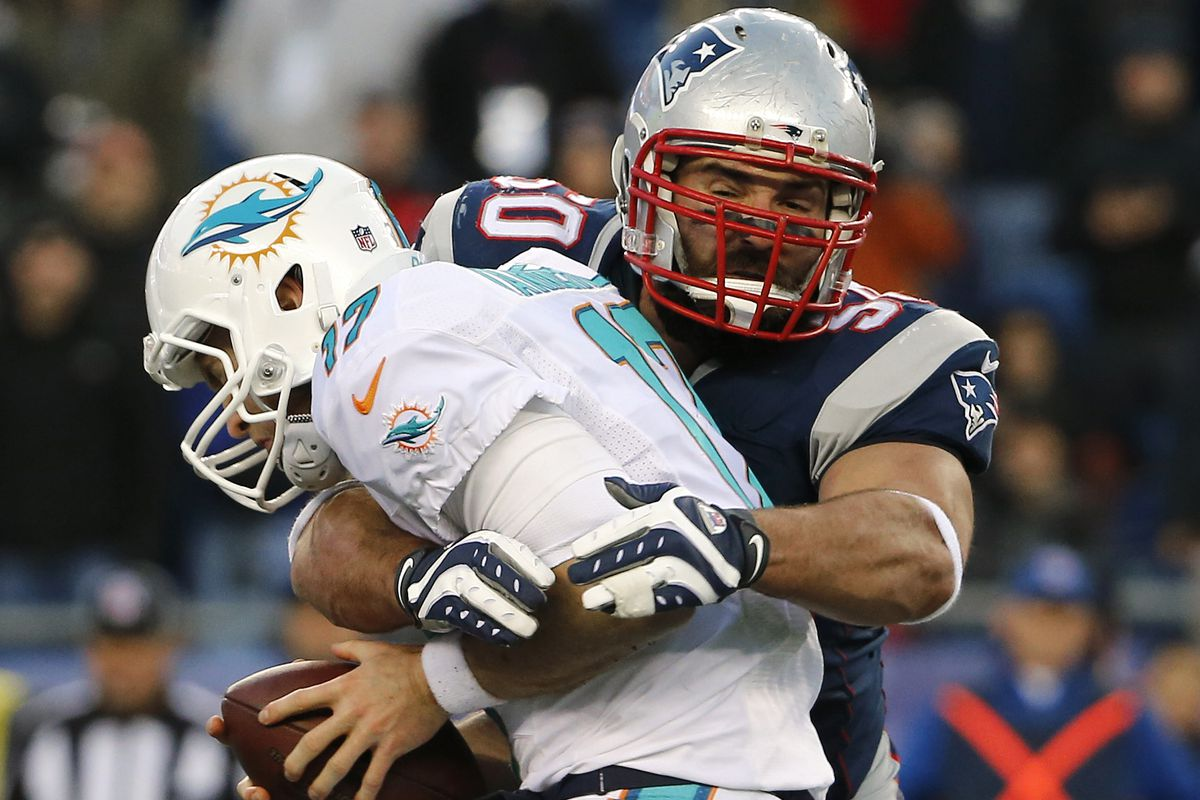 Rob Ninkovich achieves three consecutive seasons with 8 or more sacks and an all-time high CPQ