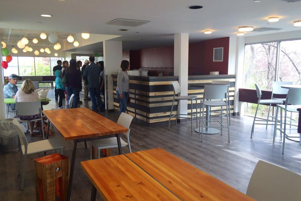 Interior of Seeds Library Cafe