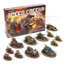 The $330 version of <em>Speed Freeks</em> includes even more vehicles. It serves as a sizeable supplement to those collecting and fielding an Ork army.